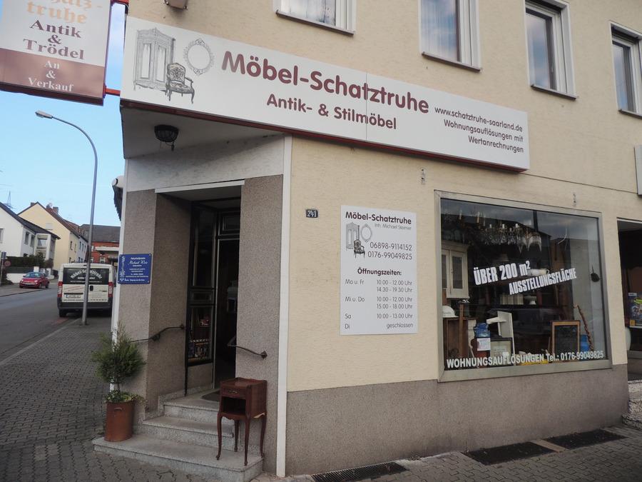 Antik Und Stilmöbel Im Saarland Möbel Schatztruhemöbel Schatztruhe